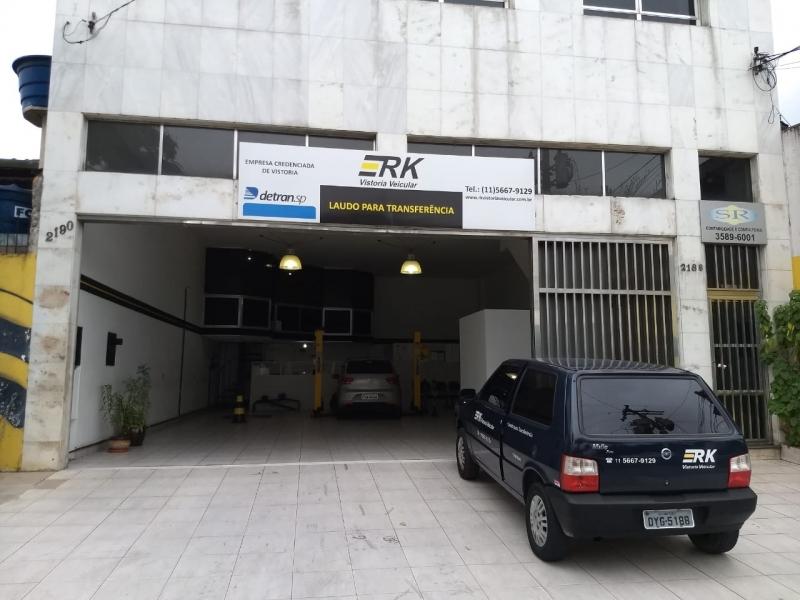 Laudo de Transferência Emissão Cidade Dutra - Laudo de Transferência para Caminhão